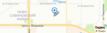 Детский сад №297 Салават купере на карте Казани