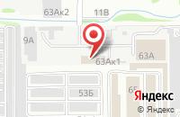 Схема проезда до компании Группа Компаний Первосвет в Казани