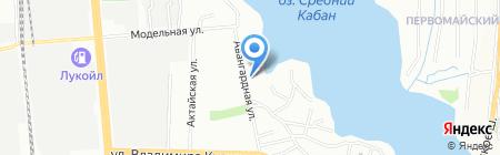 Общежитие на карте Казани
