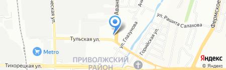 Саида на карте Казани