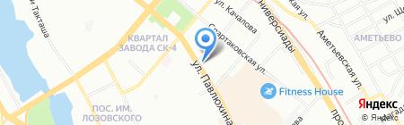 Ваш лекарь на карте Казани