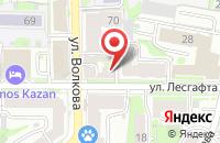 Схема проезда до компании Эльмар в Казани