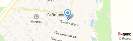 Пятерочка на карте Габишево