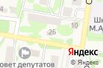 Схема проезда до компании Angel в Габишево