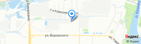Электрические системы на карте Казани