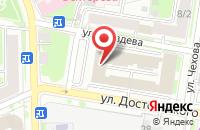 Схема проезда до компании Центр Гис в Казани