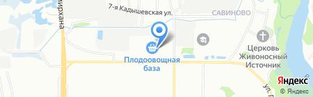 Киоск фастфудной продукции на карте Казани