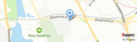 Еврокомфорт на карте Казани