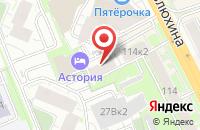 Схема проезда до компании Медиа Константа в Казани