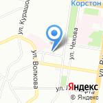 Центральная городская строительная лаборатория на карте Казани