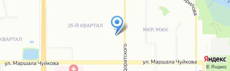 Аптека от склада на карте Казани
