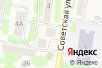 Схема проезда до компании Продуктовый магазин в Габишево
