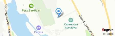 Движение на карте Казани