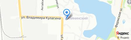 Магазин печатной продукции на Авангардной на карте Казани