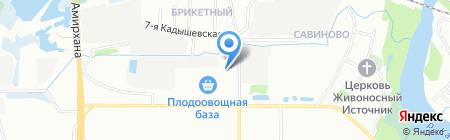 Matiz Ока на карте Казани