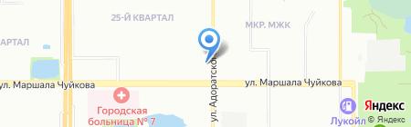 Лакра Казань на карте Казани
