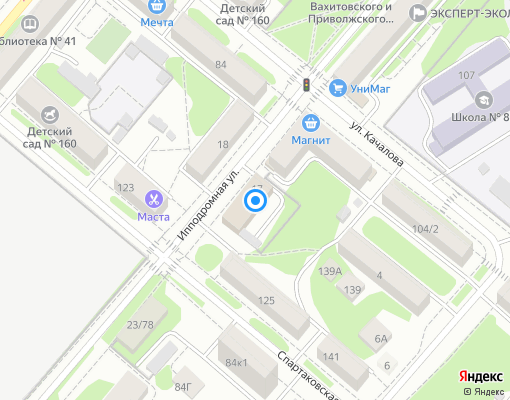 Управляющая компания «УПРАВЛЯЮЩАЯ КОМПАНИЯ ЖКХ ПРИВОЛЖСКОГО РАЙОНА» на карте Казани