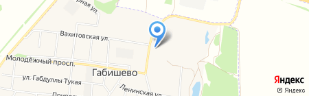 От А до Я на карте Габишево