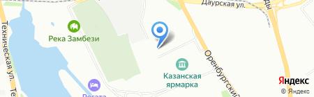ТАМАЛ на карте Казани