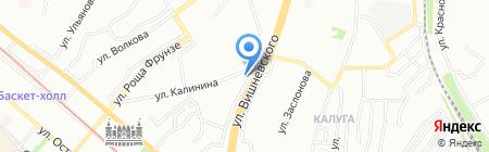Виноград на карте Казани