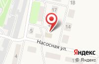 Схема проезда до компании Продуктовый магазин в Матюшино