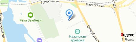 АриДа на карте Казани