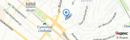 Грейс-Казань на карте Казани