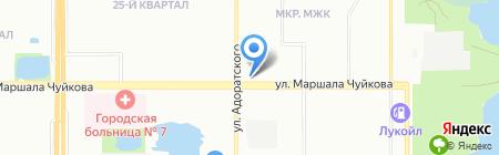 Магазин мясной продукции на ул. Маршала Чуйкова на карте Казани