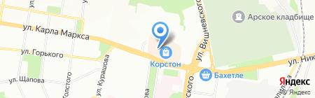 В Корстоне на карте Казани