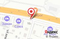 Схема проезда до компании Магазин автотоваров в Озерном