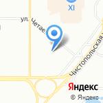 Межрегиональный институт консультирования и информатизации на карте Казани