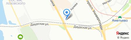 Амаль на карте Казани