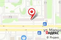 Схема проезда до компании Жасмин в Казани