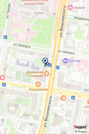 ЛЭНД-СЕРВИС на карте Казани