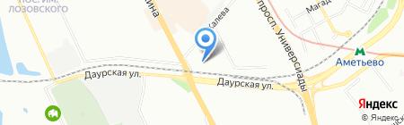 Джайб на карте Казани