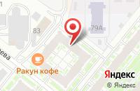 Схема проезда до компании Издательский Центр «Кадры России Xxi» в Казани