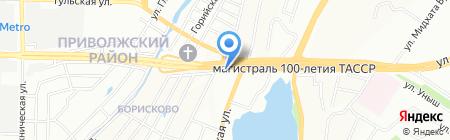 Детский сад №320 на карте Казани