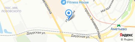 Крокус на карте Казани