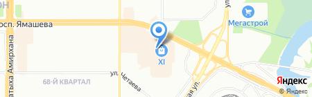 Элеонора на карте Казани