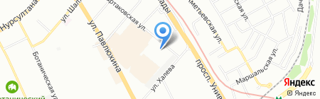 Строящиеся объекты на карте Казани