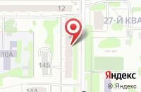 Схема проезда до компании Академкнига в Казани