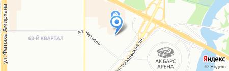 Детский сад №110 Соенеч на карте Казани