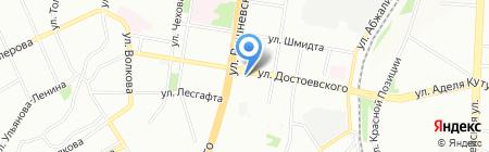 Изабэль на карте Казани