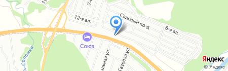 АЗС Магистраль на карте Казани