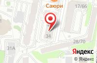 Схема проезда до компании Промпоставка в Казани