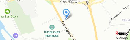 Станция технического осмотра мотоавтотранспорта на карте Казани
