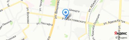Перец на карте Казани