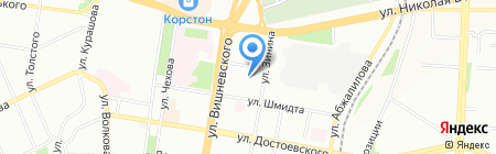 Радиант на карте Казани