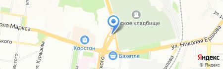 ТЕХНОУЮТ на карте Казани