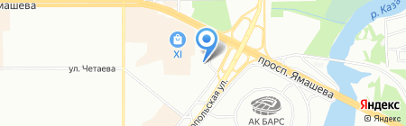 Барс Риелт на карте Казани
